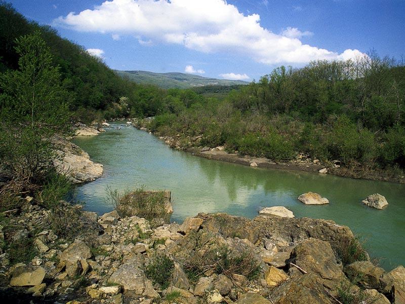 Monte rufeno – fiume paglia